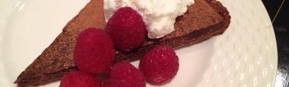 Chocolate Tart in Chocolate Crust: Adapted from Jean-George Vongerichten
