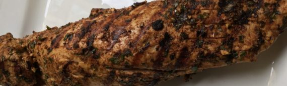 Spicy Grilled Pork Tenderloin